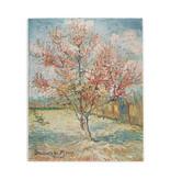 Dubbele kaart Van Gogh Roze perzikbomen