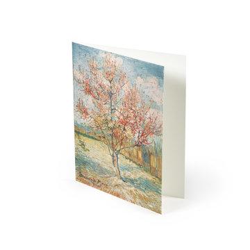 Double card Van Gogh - Pink peach trees
