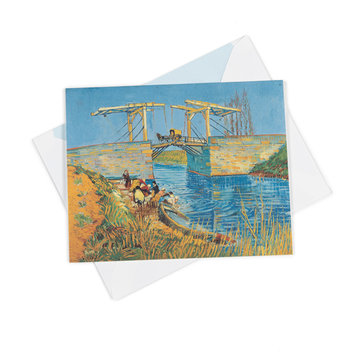Double card Van Gogh Bridge at Arles