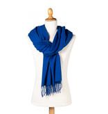 Pashmina scarf blue
