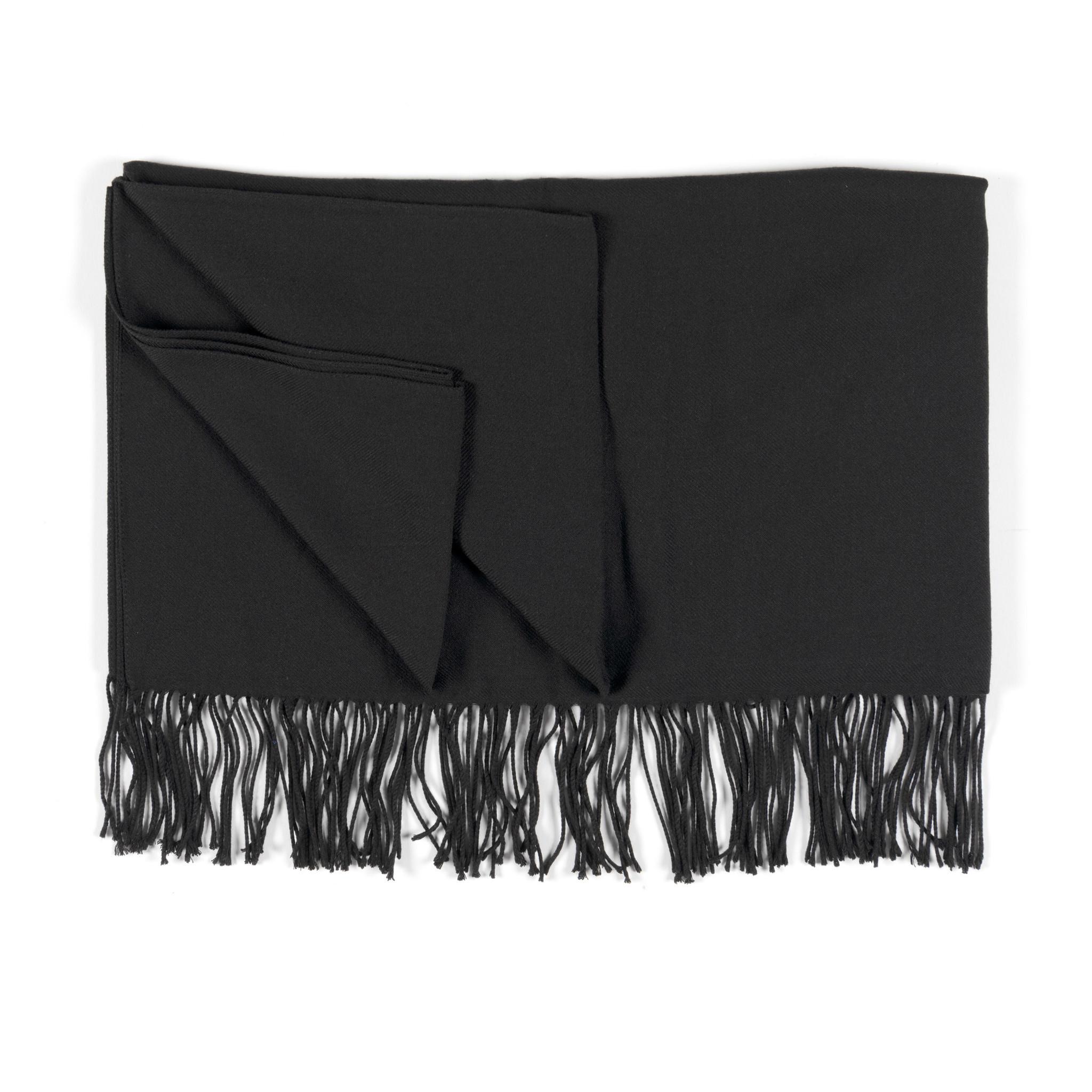 Pashmina scarf black