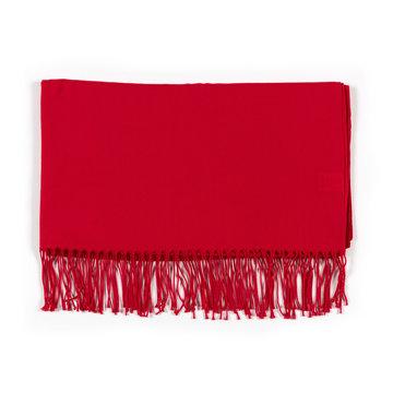 Pashmina scarf - red
