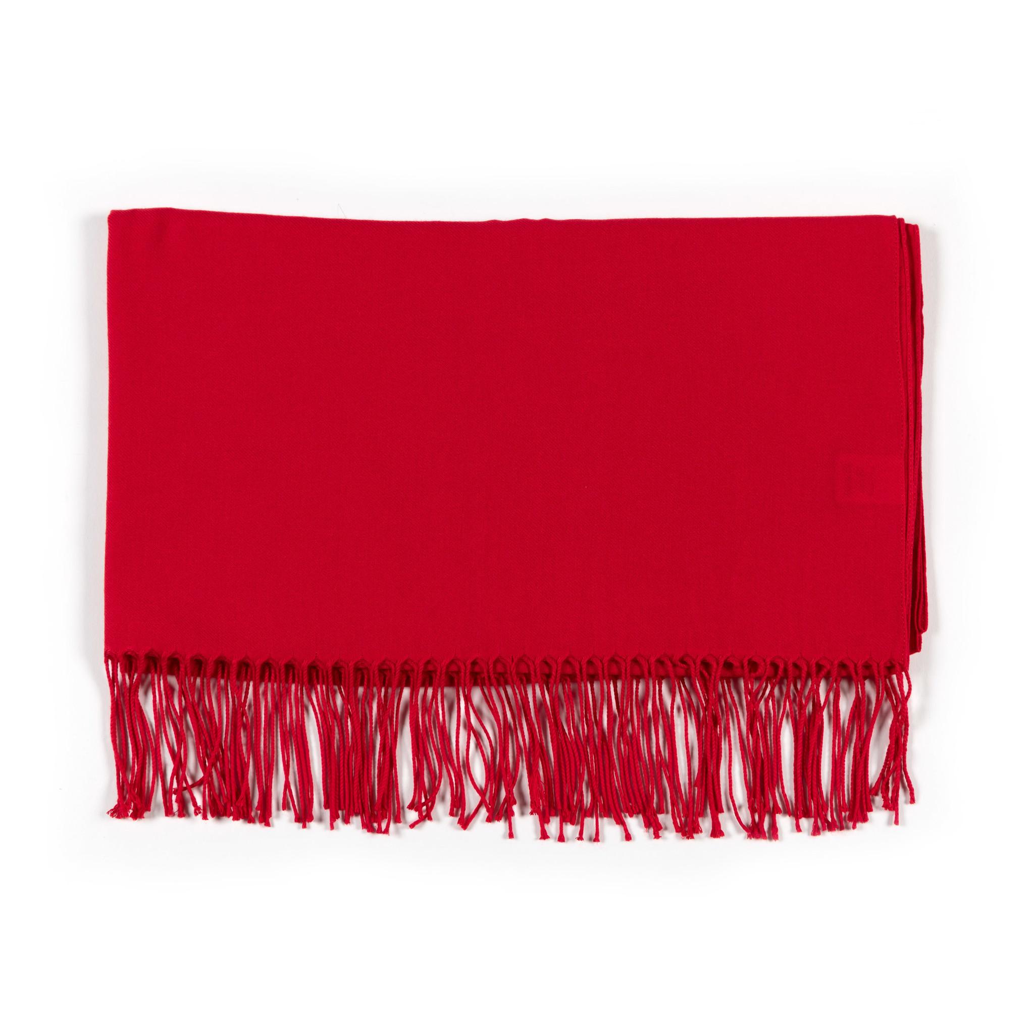 Pashmina scarf red