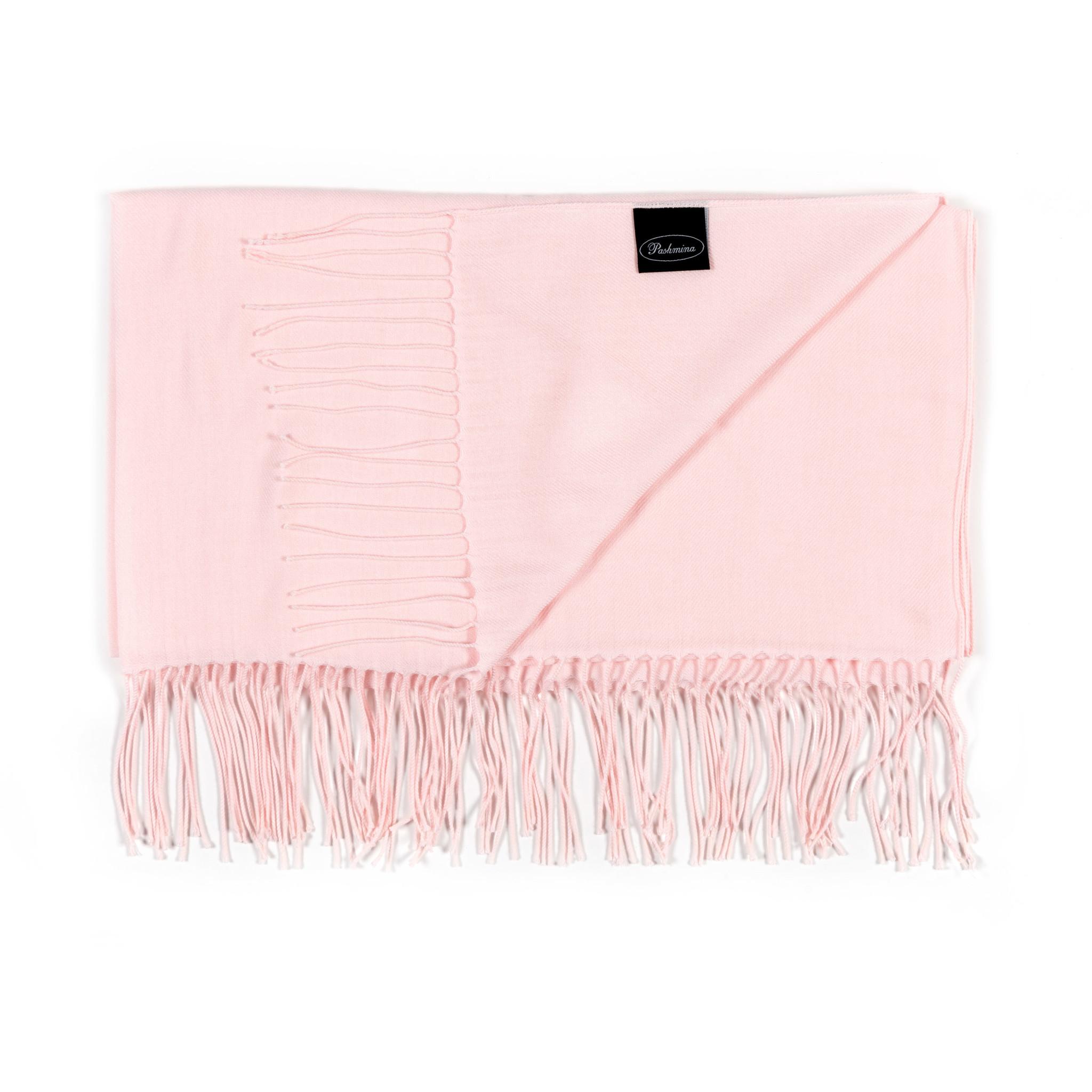 Pashmina sjaal roze