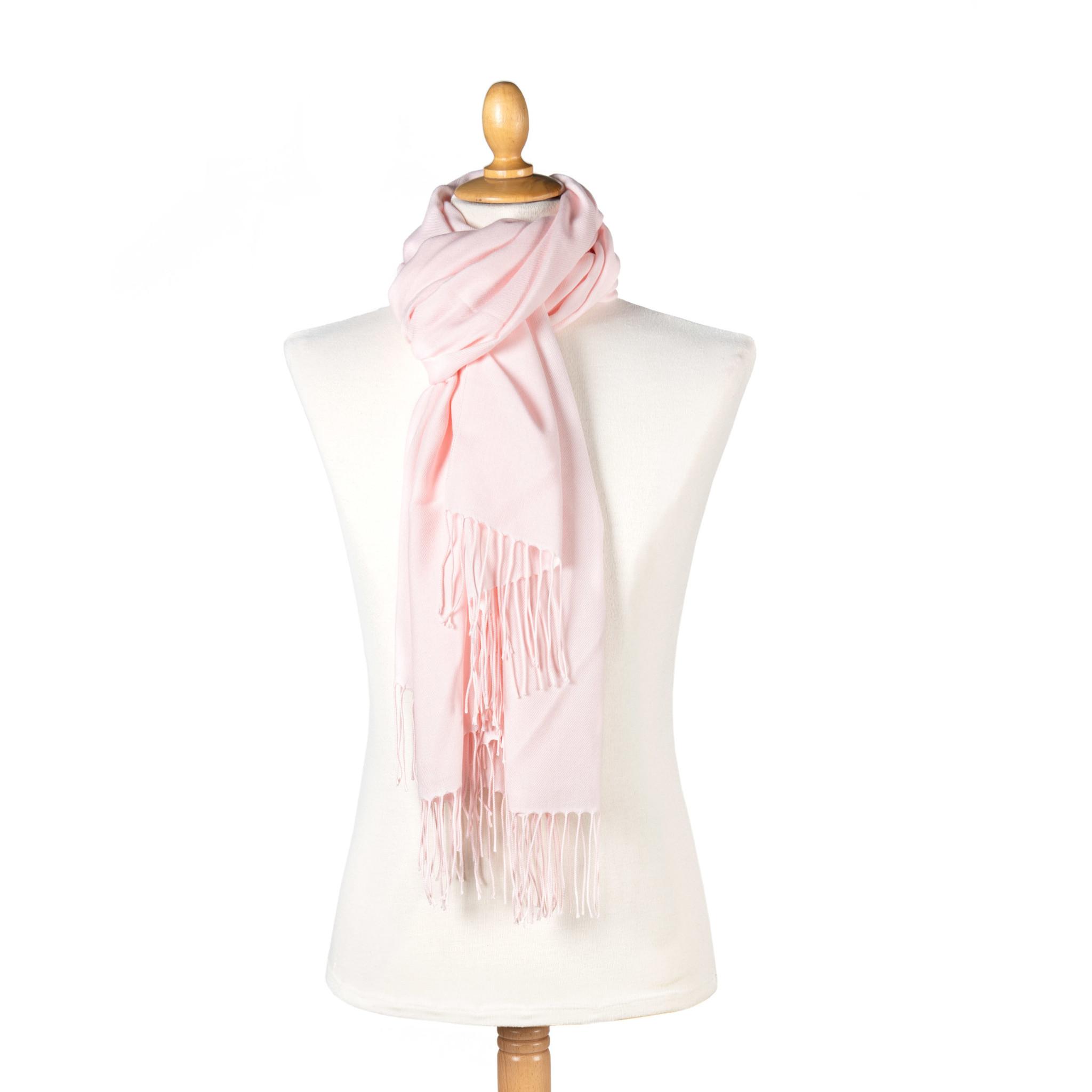 Pashmina sjaal pink