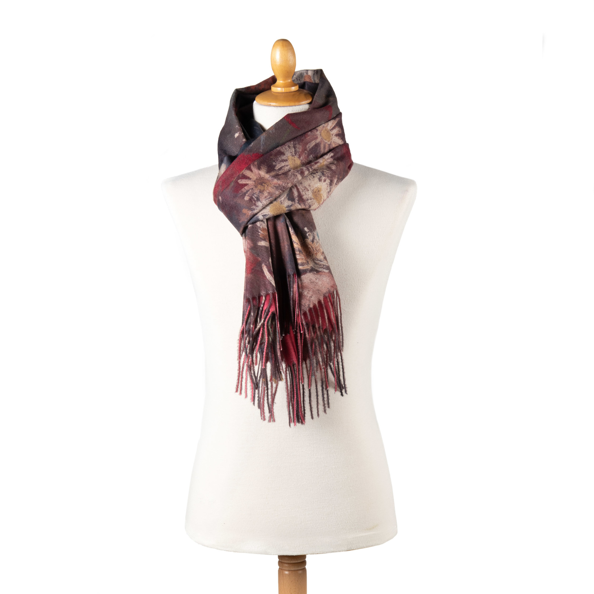Scarf - Still life with meadow flowers
