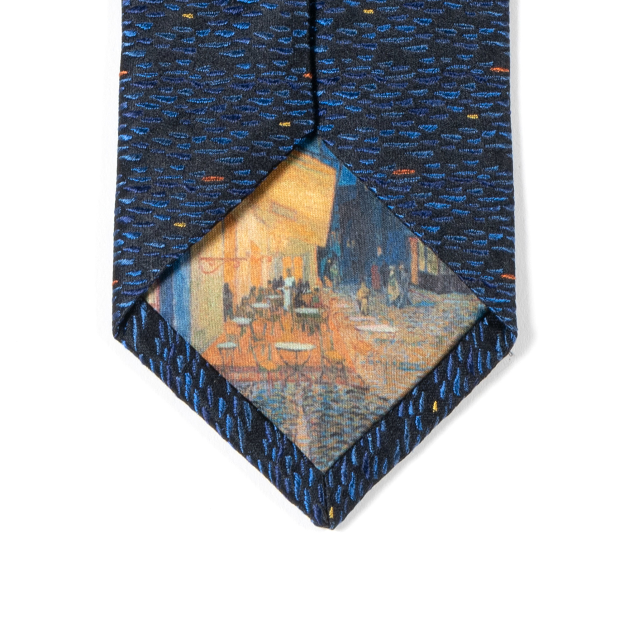 Tie Van Gogh Terrace of a café at night 1