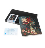 Reproduction canvas Van Gogh - Still life with meadow flowers and roses