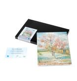 Reproductie canvas Van Gogh Roze perzikbomen