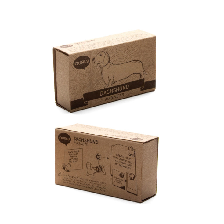 Magnetich cardholder Dachshund