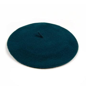 Parkhurst baret donker turquoise