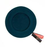 Parkhurst beret dark turquoise