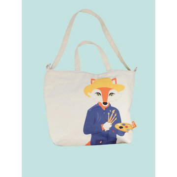 Love this Fox Van Gogh tote bag
