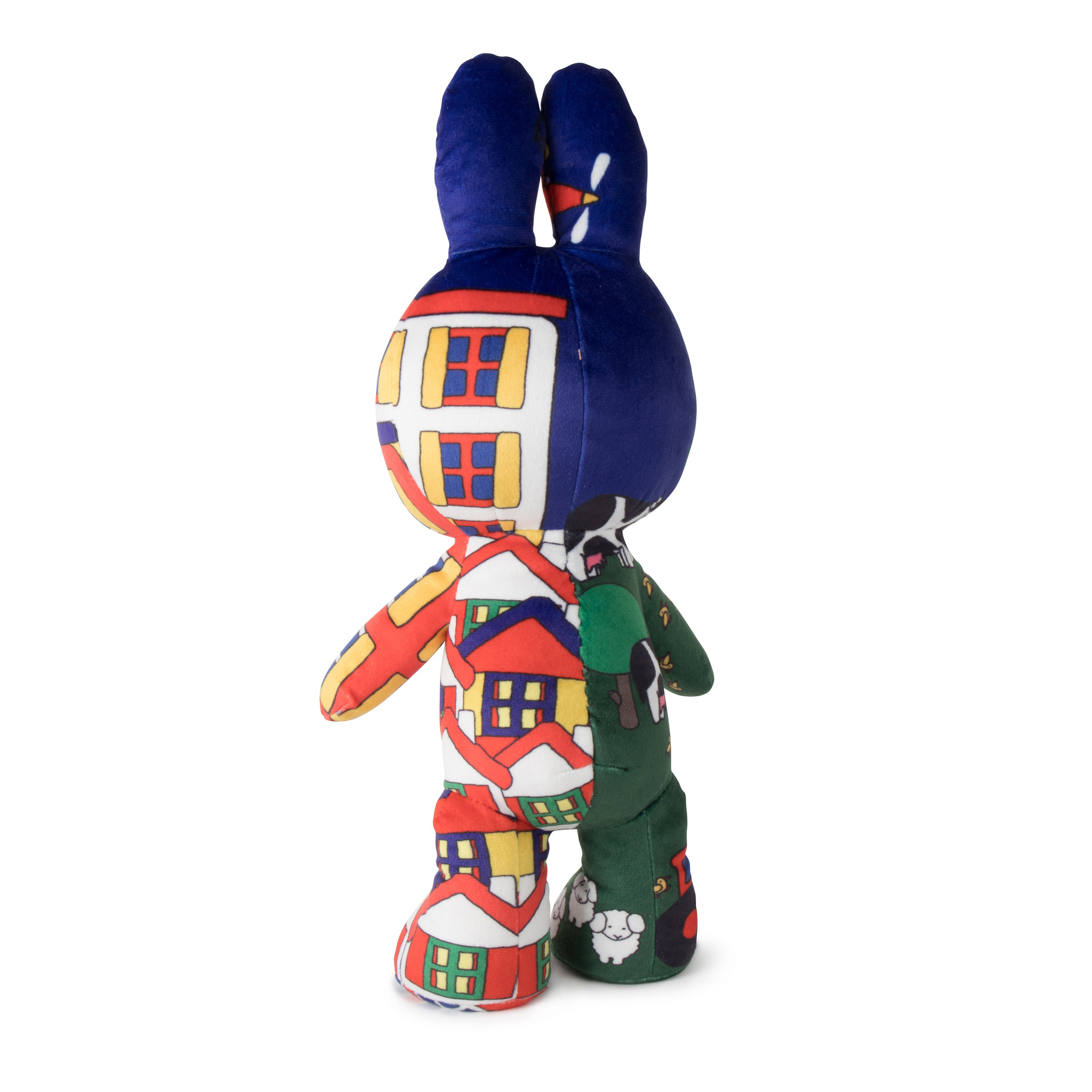 Limited edition Miffy cuddly toy 'Village vs City'