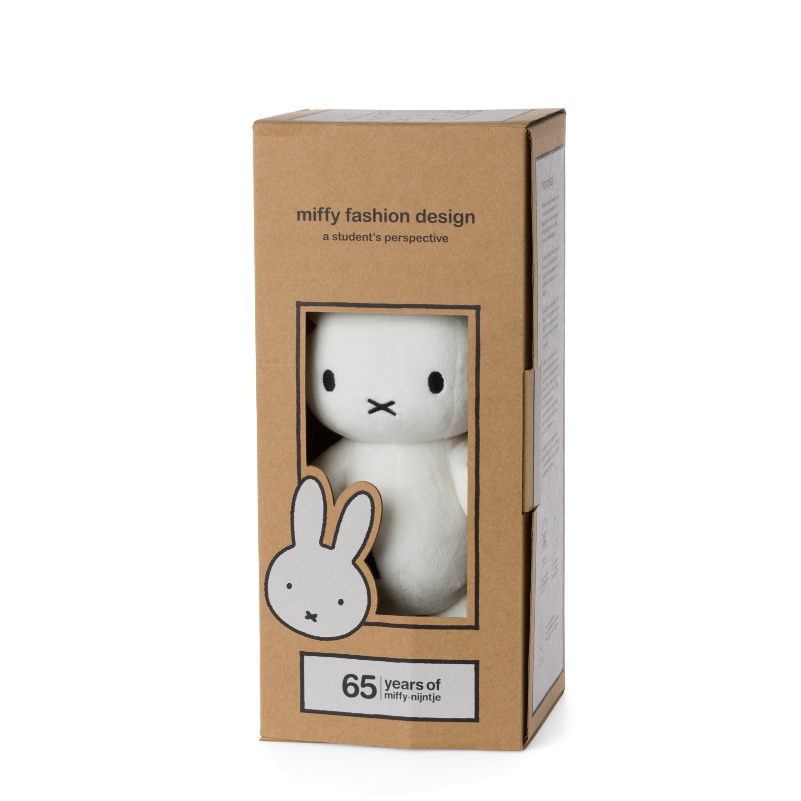 Limited edition Miffy cuddly toy 'Elementary'