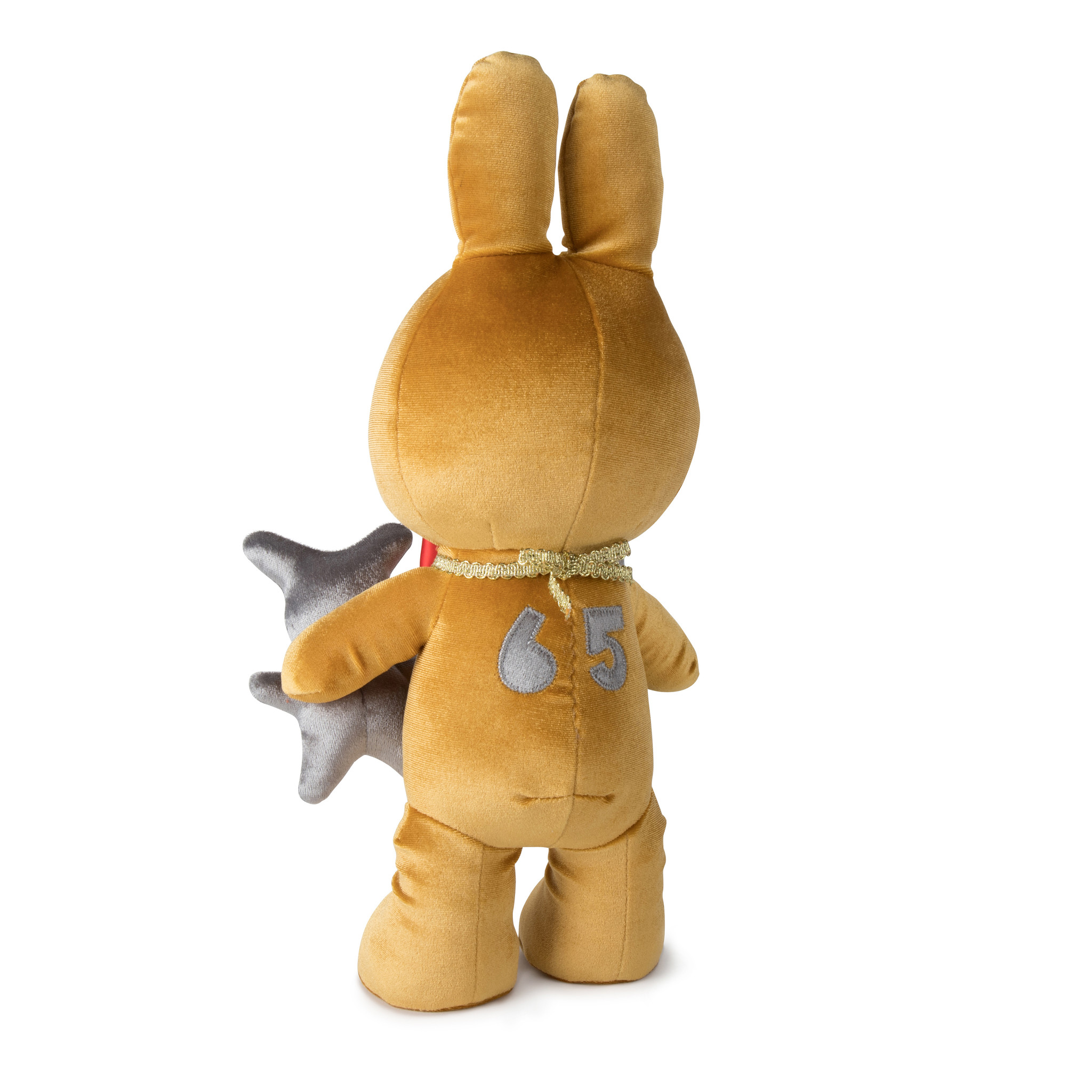 Limited edition Miffy cuddly toy 'Evolution Gold'