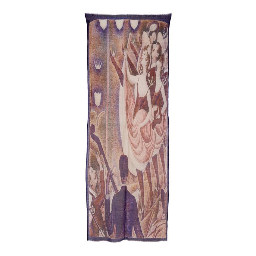 Scarf 'Le Chahut' - Georges Seurat