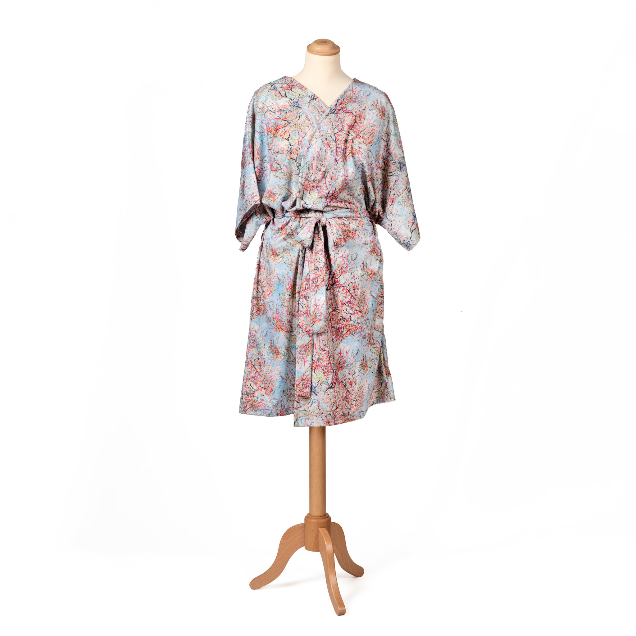 Kimono Van Gogh Pink peach trees