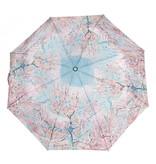 Foldable umbrella Van Gogh Pink peach trees