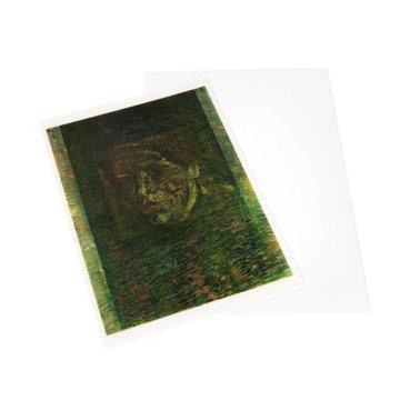Lenticular card Van Gogh Patch of grass