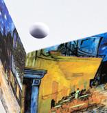 Kubusblok Van Gogh Caféterras bij nacht