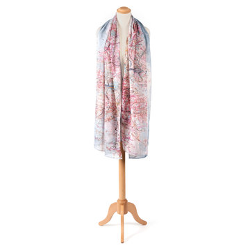 Van Gogh sjaal Roze perzikbomen
