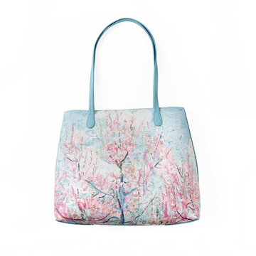 Handbag Van Gogh Pink peach trees