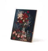 Ceramic tile Van Gogh Meadow flowers and roses