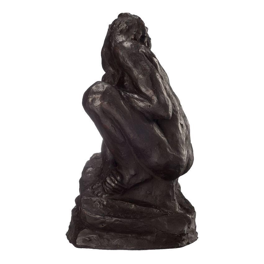 Replica 'Squatting Woman' - Auguste Rodin