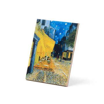 Ceramic tile Van Gogh Terrace of a café at night