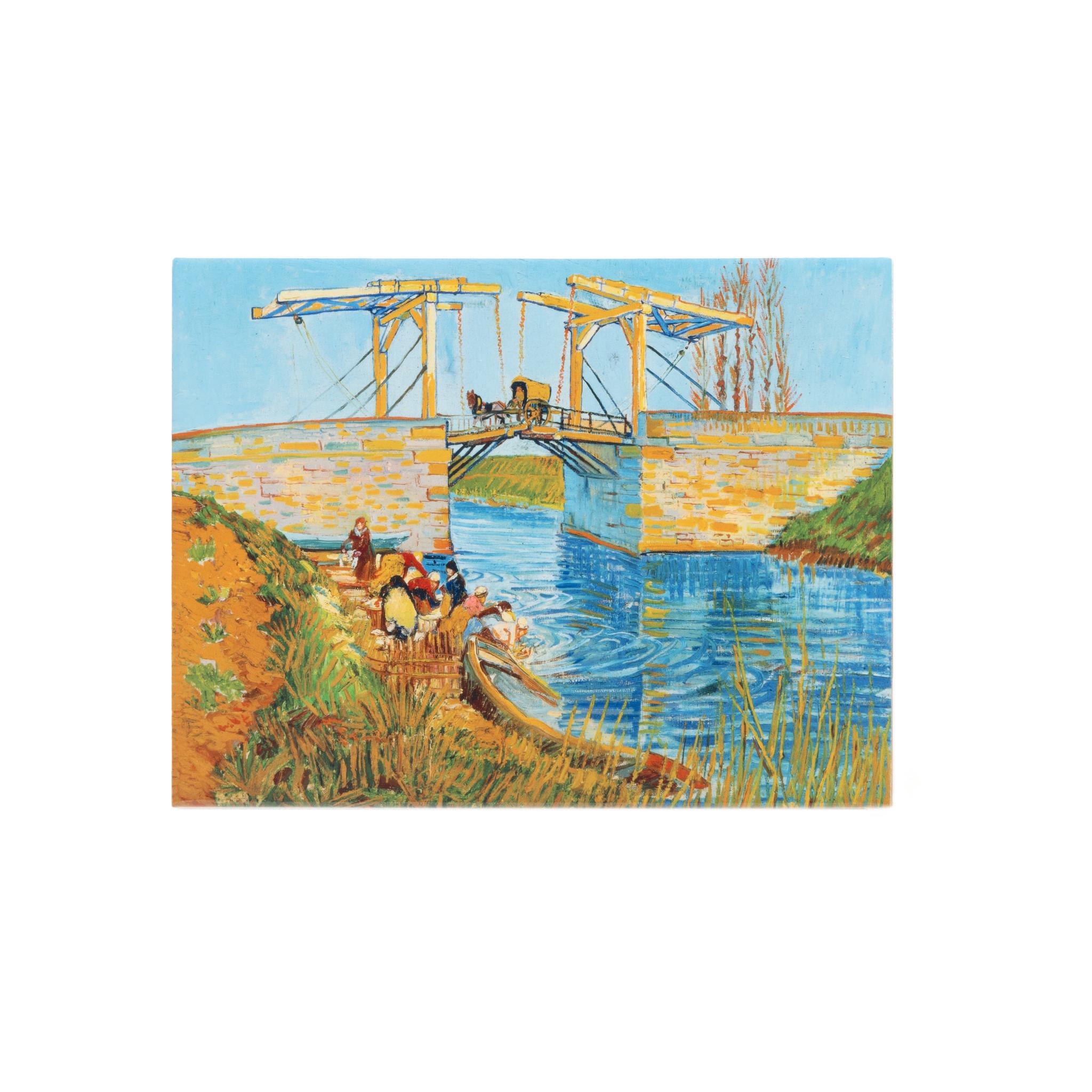Ceramic tile Van Gogh Bridge at Arles