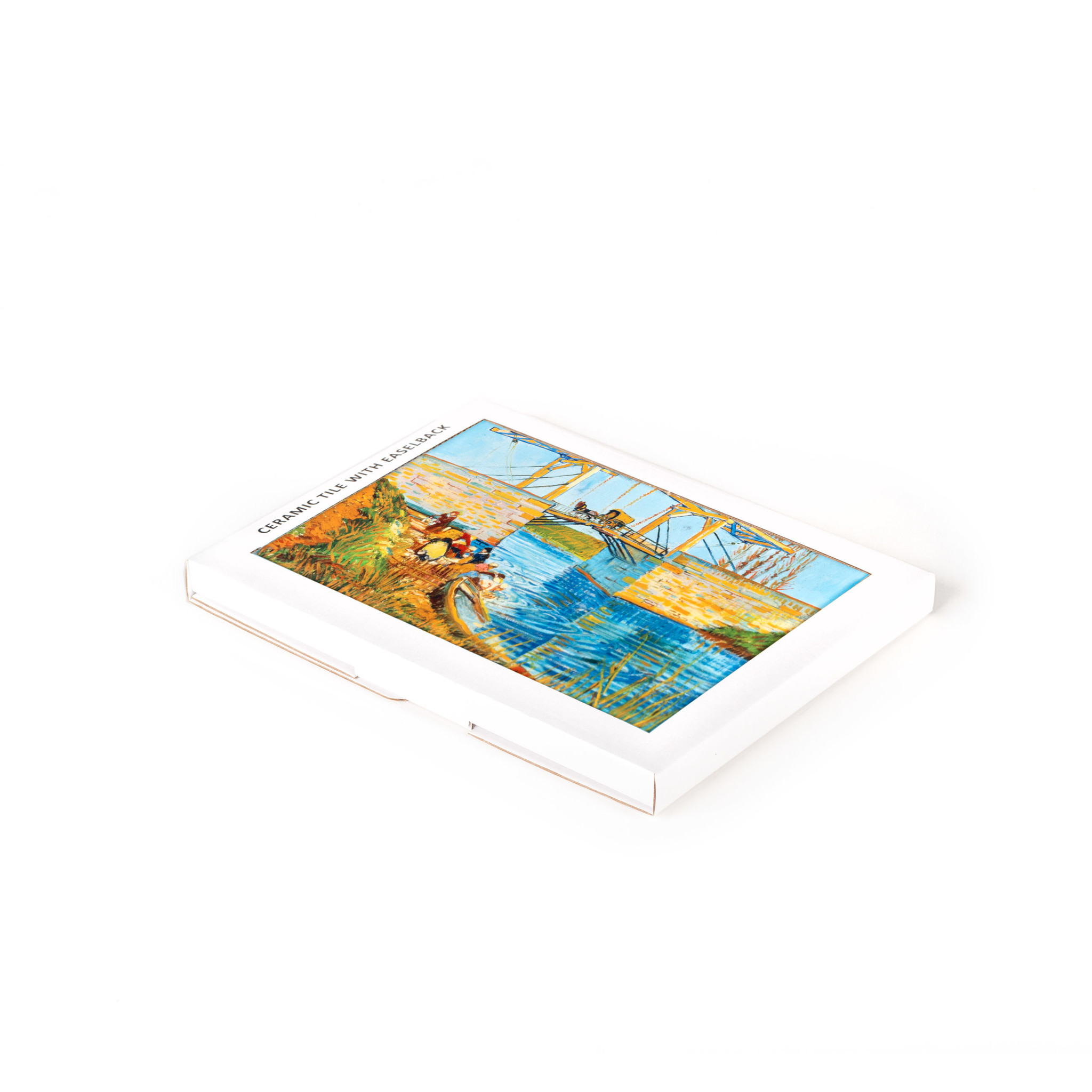 Keramische tegel Van Gogh Brug te Arles