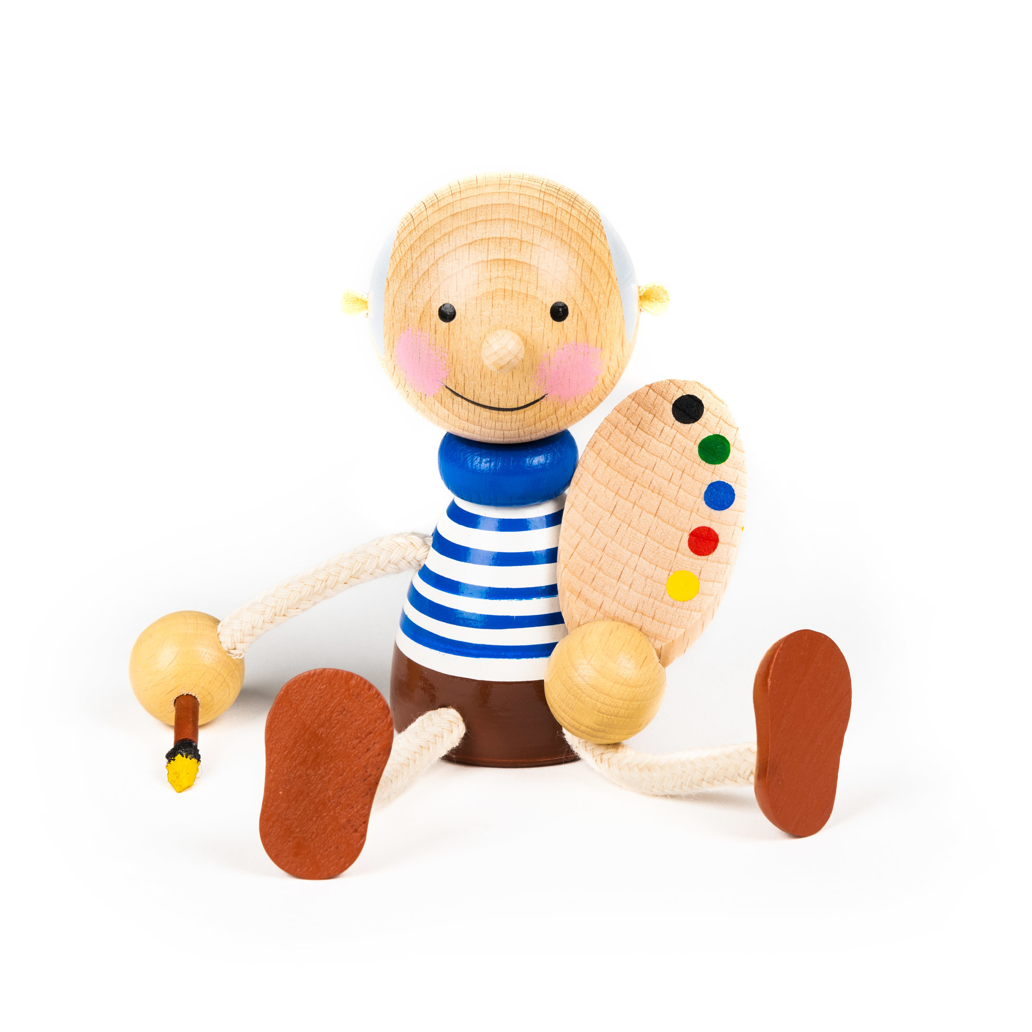 Wooden doll Picasso