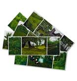 Ansichtkaarten Gilbert & George set van zes