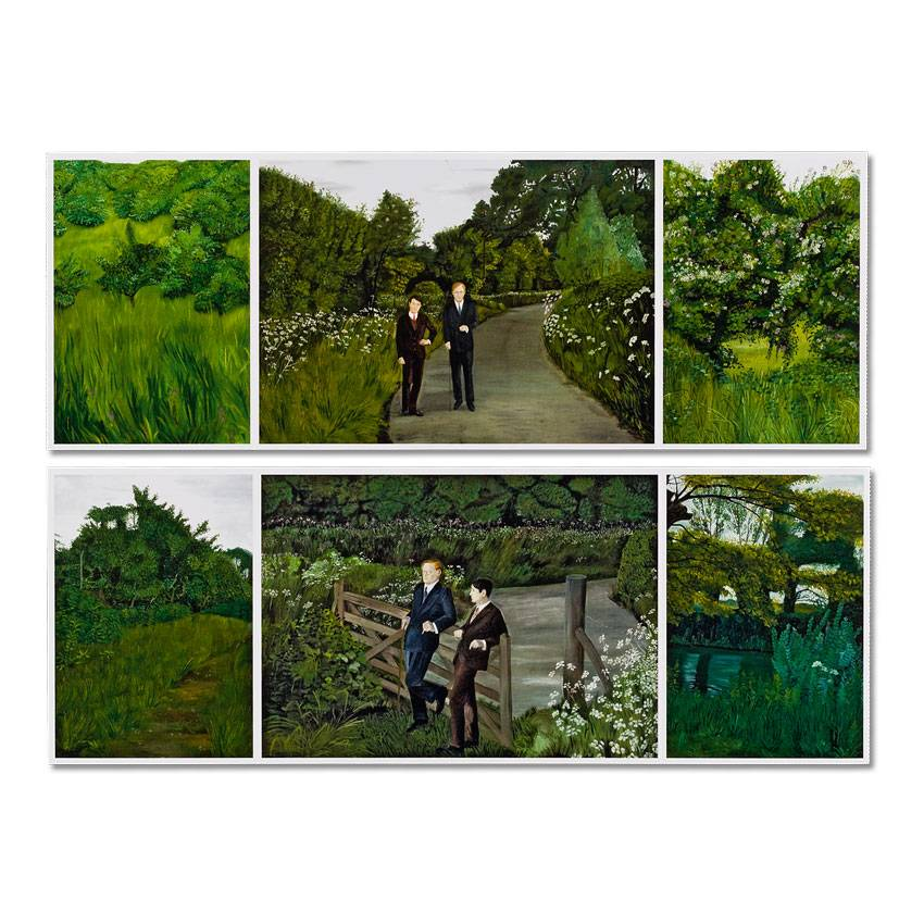 Postcards Gilbert & George set of six