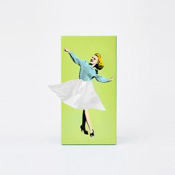 Tissue UP Girl groen