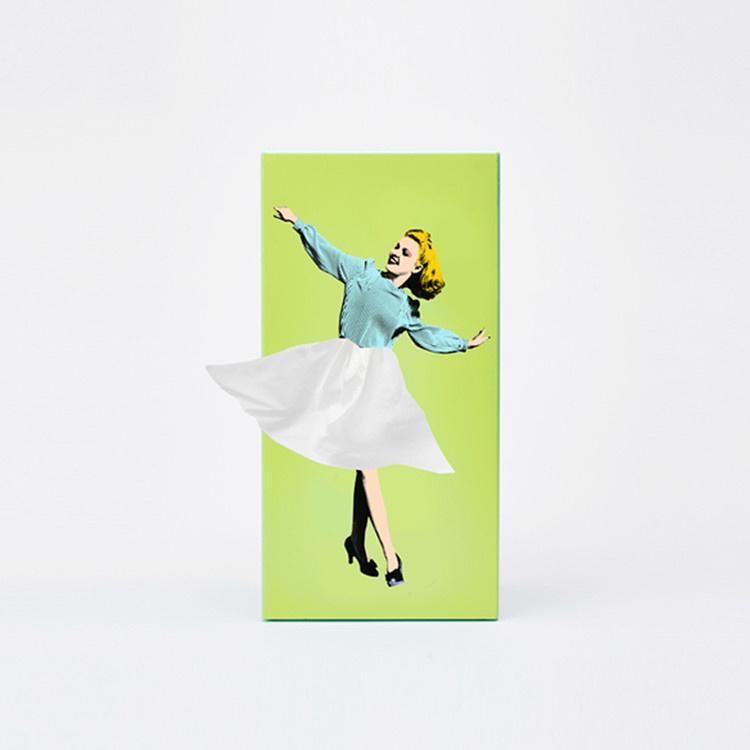 Tissue UP Girl green