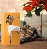 Tissue UP Girl orange yellow