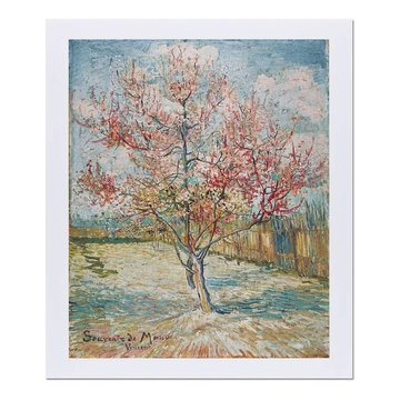 Reproduction 'Pink Peach Trees (Souvenir de Mauve)' - Vincent van Gogh