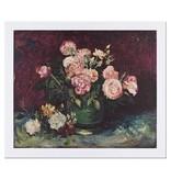 Reproduction Van Gogh Roses and Peonies