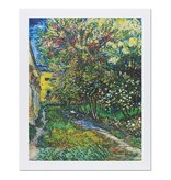 Reproduction Van Gogh The garden of the Asylum
