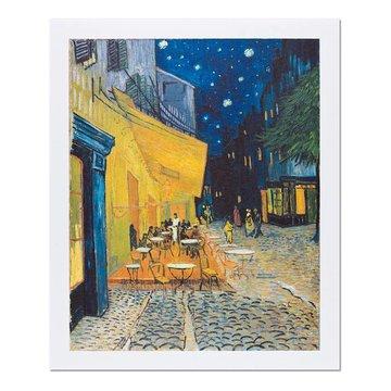 Reproductie Van Gogh Caféterras bij nacht