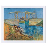 Reproduction 'Bridge at Arles' - Vincent van Gogh