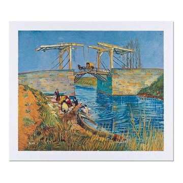 Reproduction 'Bridge at Arles' - Vincent van Gogh