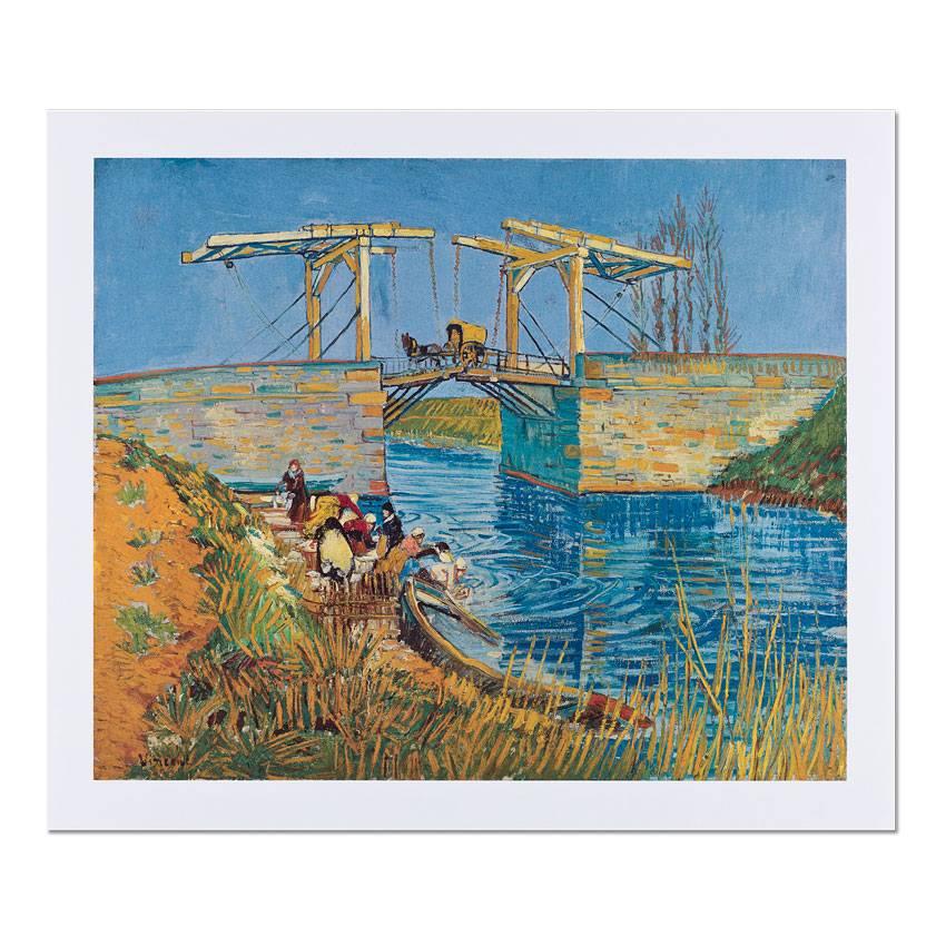 Reproductie Van Gogh Brug te Arles