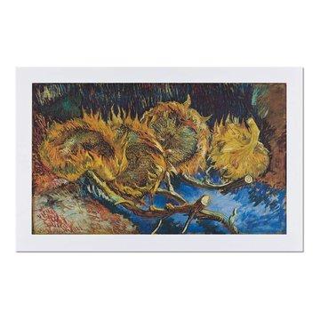 Reproductie 'Vier uitgebloeide zonnebloemen' - Vincent van Gogh