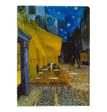 Document wallets Van Gogh Terrace of a café at night