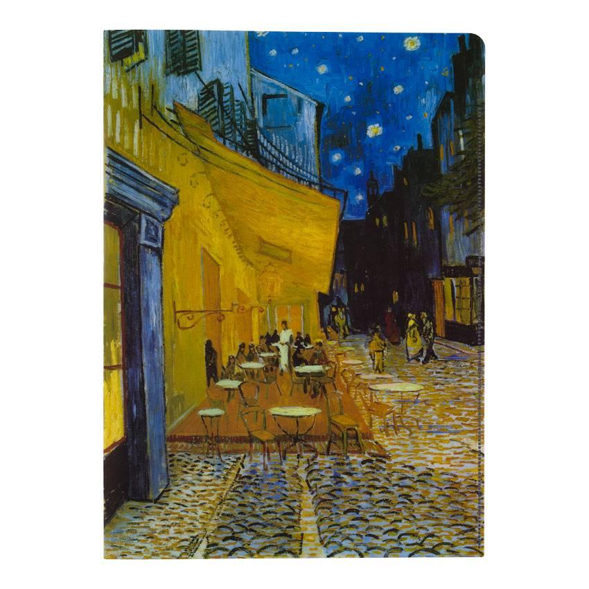 Insteekhoezen Van Gogh Caféterras bij nacht