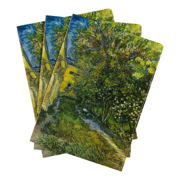 Document wallets Van Gogh The garden of the asylum