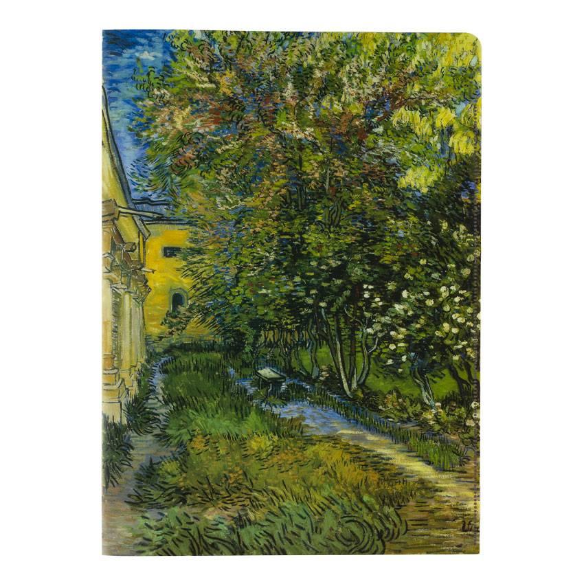 Insteekhoezen 'De tuin van de inrichting in Saint-Rémy' - Vincent van Gogh